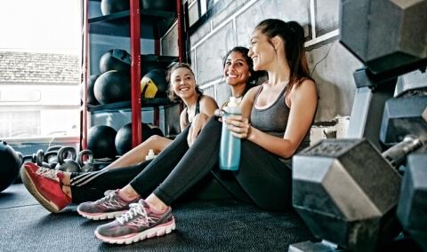 ¿Cómo sentirte fresca después del gimnasio?